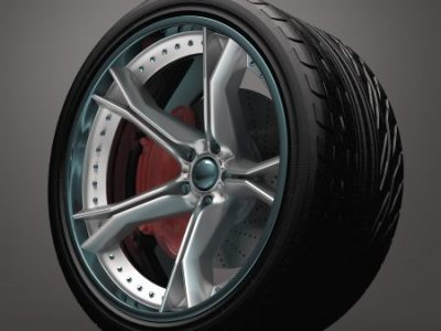 Concept wheel created and designed without bases in existing brands.