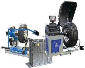 Dækmaskiner og opbevaring LKW